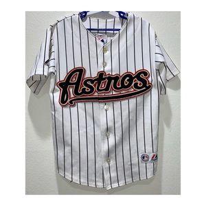 Houston Astros MLB Majestic Jersey Youth Sz Small
